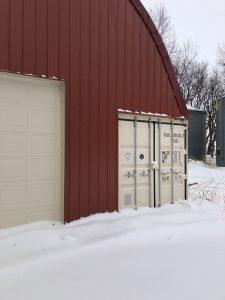 Storage Container Building