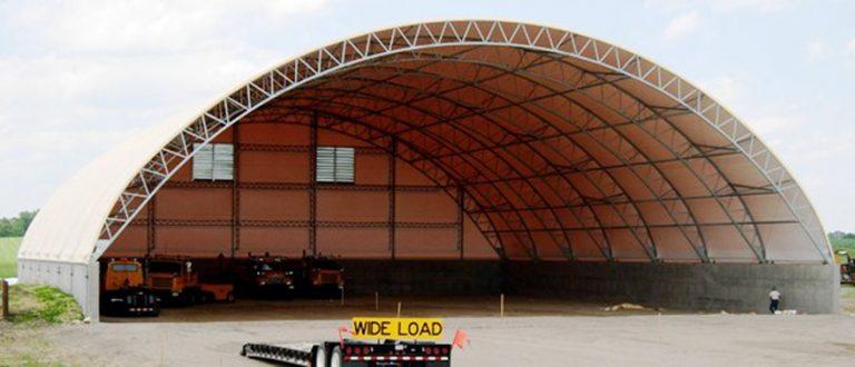 Large Equipment Storage Building