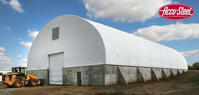 Accu-Steel Advantage Series Fabric Covered Building